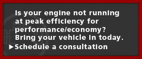 Is your engine not running at peak efficiency for performance/economy? Bring your vehicle in today. Schedule A Consultation
